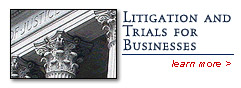 Litigation and Trials for Businesses - Hubert Law Office
