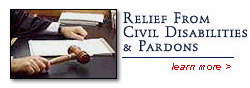 Relief From Civil Disabilities and Pardons - Hubert Law Office Brooklyn New York